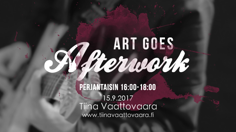 Live @ Art Goes Afterwork 15.9.2017